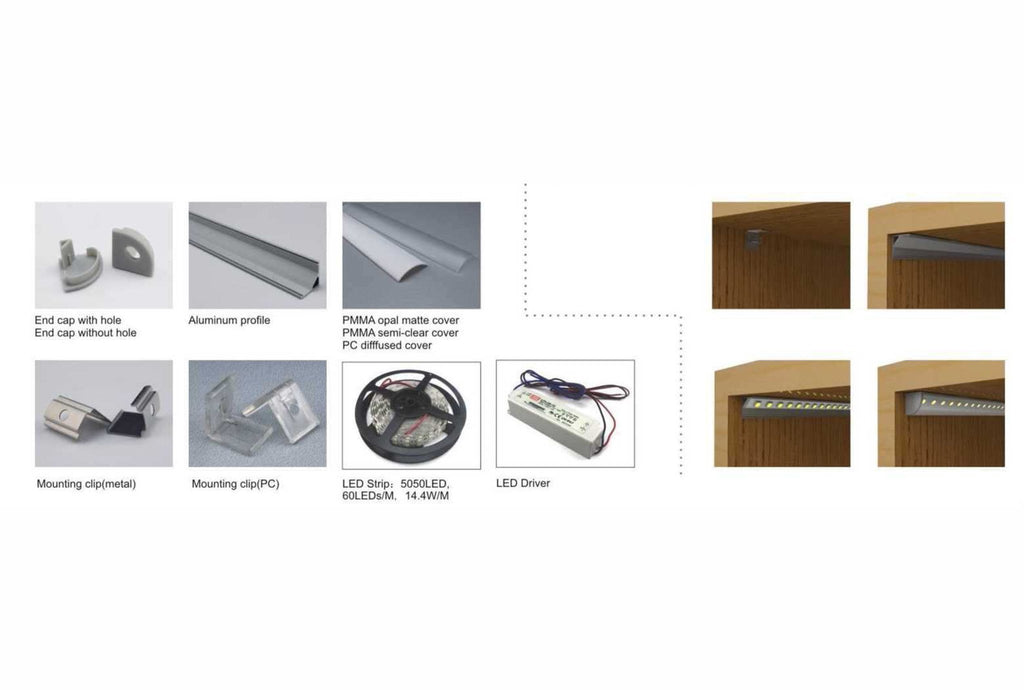 Copy of Aluminium Profile for LED Lighting - P006
