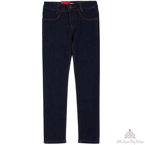 Levi's Girls Supper Skinny Jeans Dark Blue 710N92350J