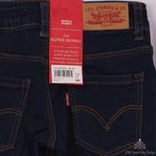 Load image into Gallery viewer, Levi's Girls Supper Skinny Jeans Dark Blue 710N92350J