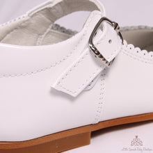 Load image into Gallery viewer, Bambi Leather Shoes White