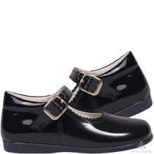 Load image into Gallery viewer, Bambi Leather Shoes Navy