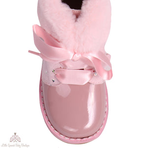 Bambi Boots Pink
