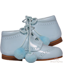 Load image into Gallery viewer, Bambi Pom Pom Shoes Blue
