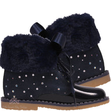 Load image into Gallery viewer, Bambi Boots Navy