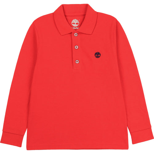 Timberland Red Polo