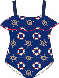 Miranda Navy Swimming Costume 417/B