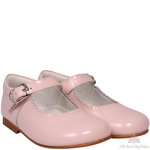 Bambi Patent Leather Shoes Pink