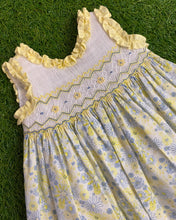 Load image into Gallery viewer, Pretty Originals Yellow Smock Dress