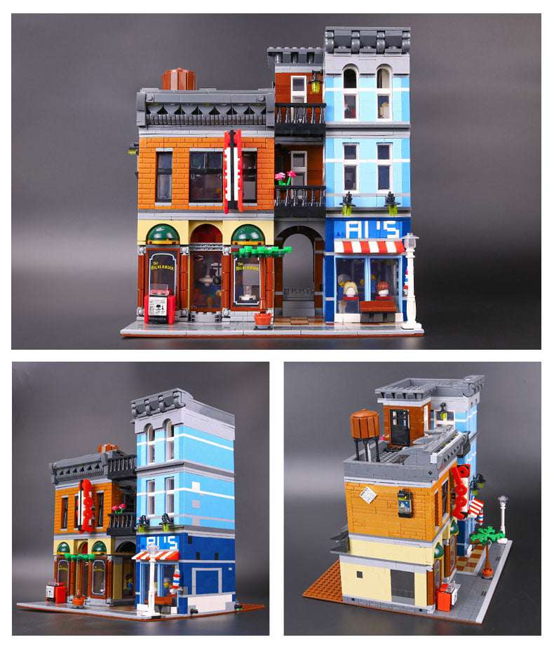 Lepin 15011--Detective's Office – LOL TOY