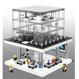Apple store With LED -SEMBO BLOCKS SEMBO BRICKS 6900