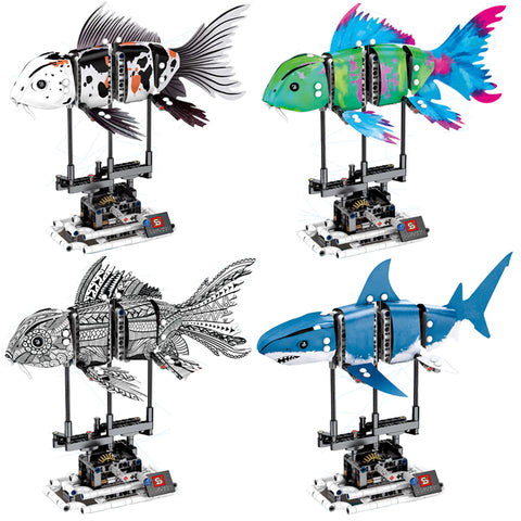 SEMBO 7006 -- THE DIY FORMA FISH - LOL Toys