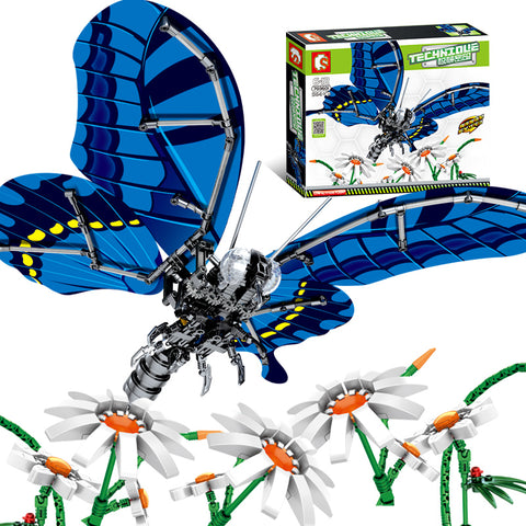SEBOO 703601 703200 703300 -- Simulation Dragonfly , Bee,Swallowtail Butterfly - LOL Toys