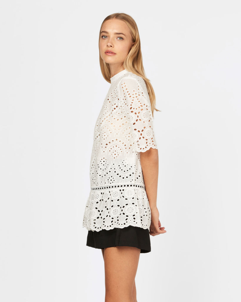 Summer Bloom Lace Top