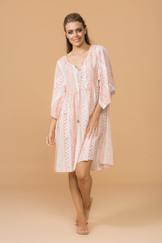 Crescent Moon Shirt Dress / Print