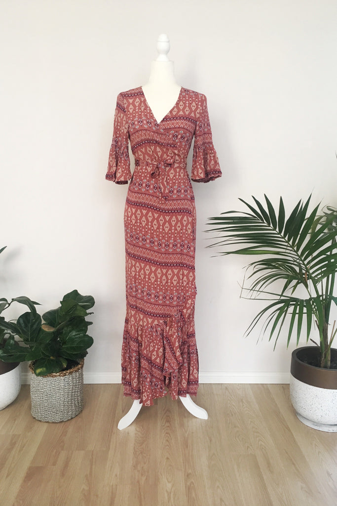 Modest Bohemian Women's Dresses Australia Perth Maxi Wrap