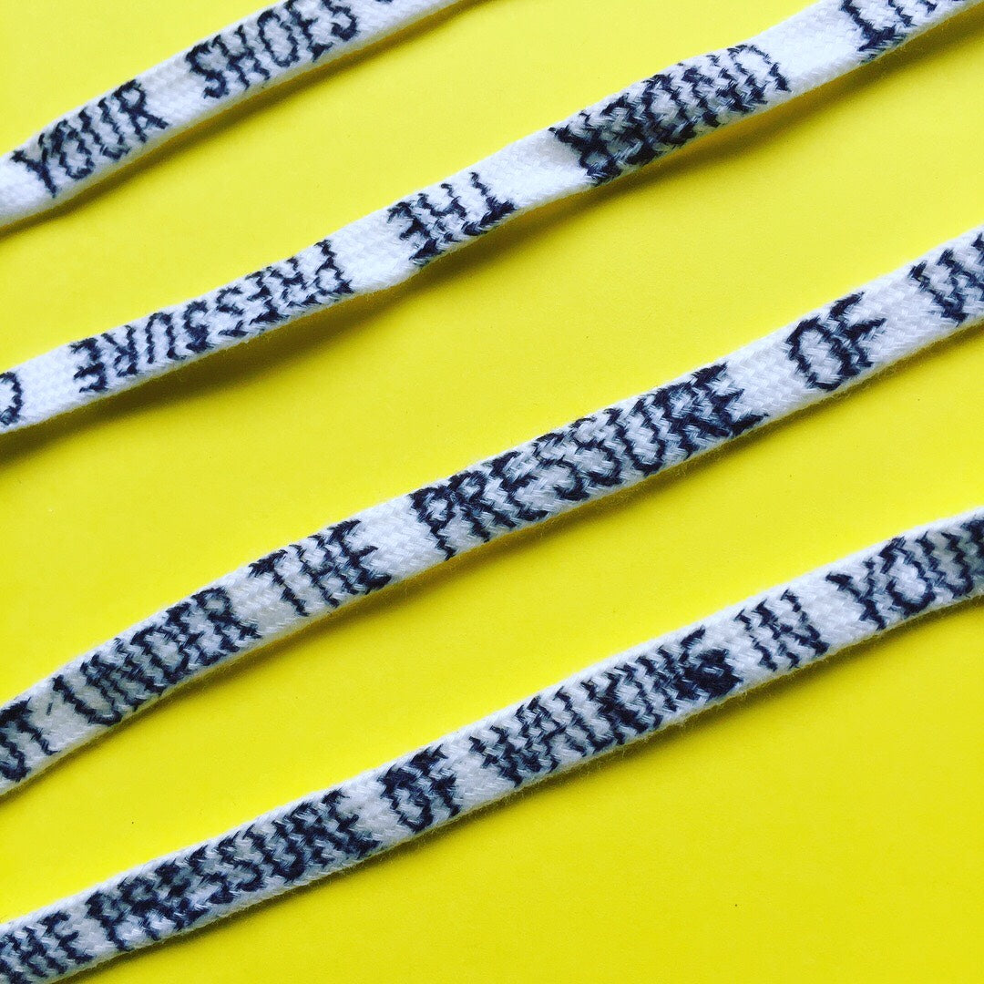 Numb { Music-Inspired Shoelaces | Single Pair }