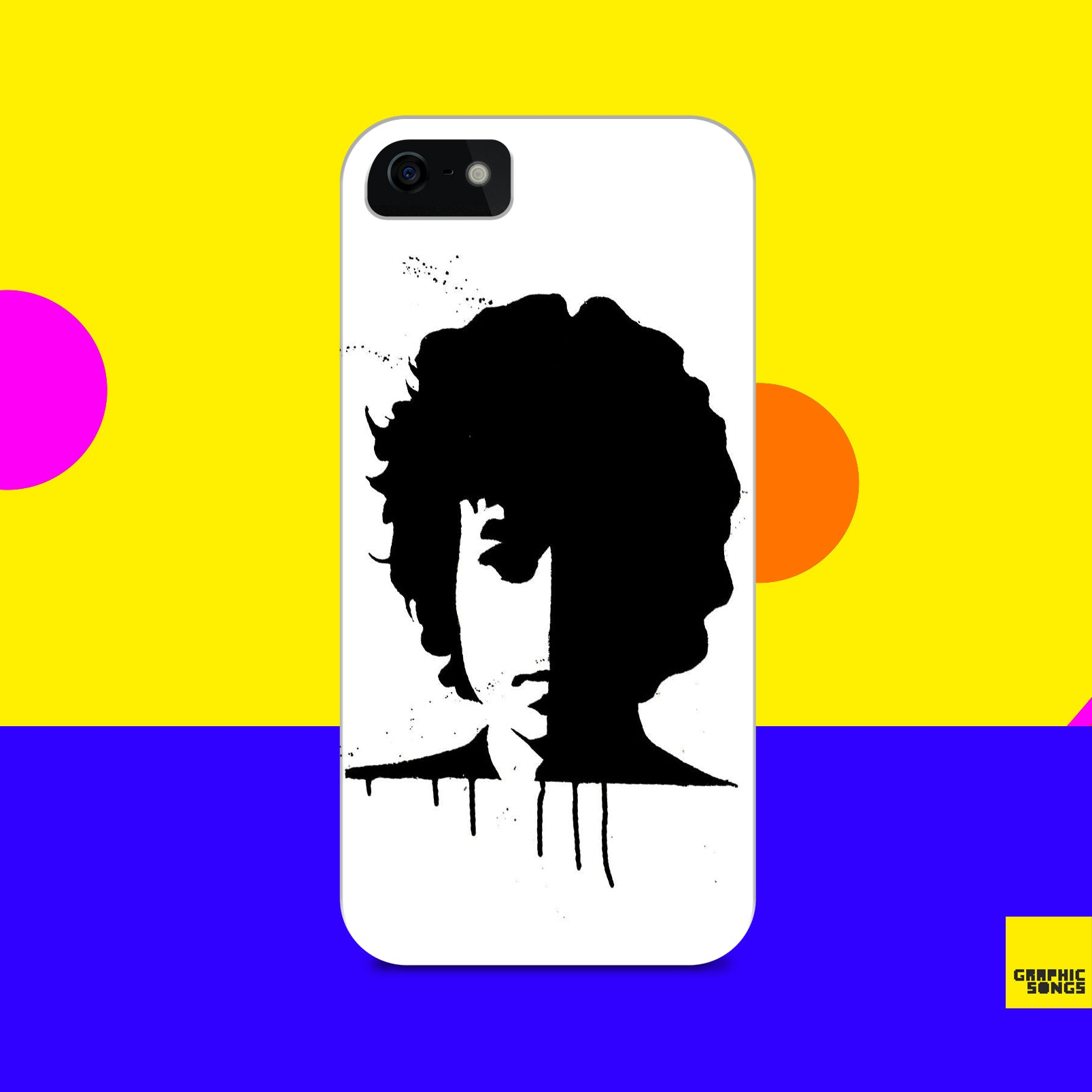 Dylan { Premium Music-Inspired Graphic Print Phone Case }