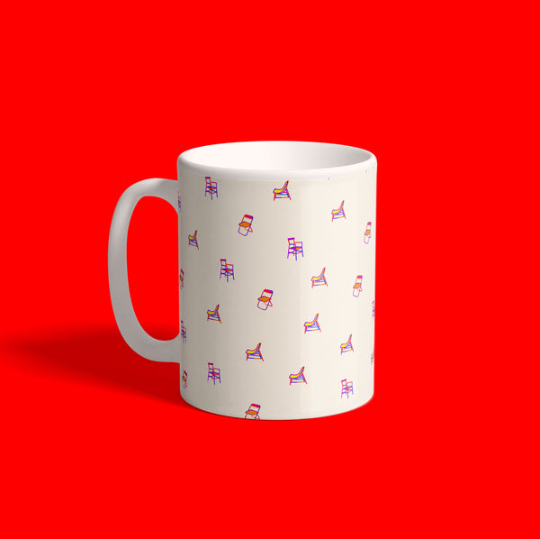 Chair { Premium Artist Collection Mug }
