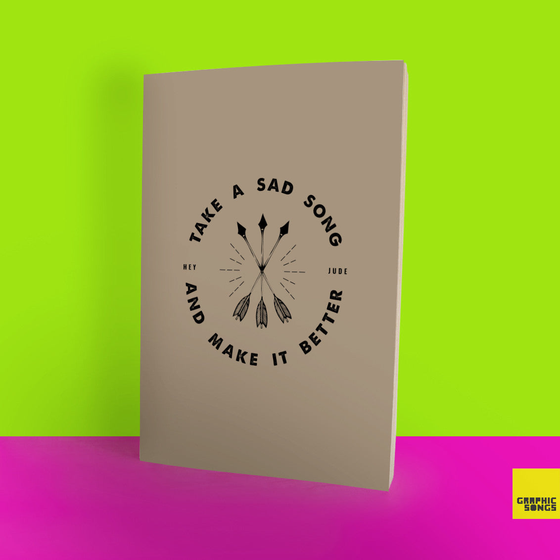 Take A Sad Song And Make It Better { Music-Inspired Graphic Notebook }