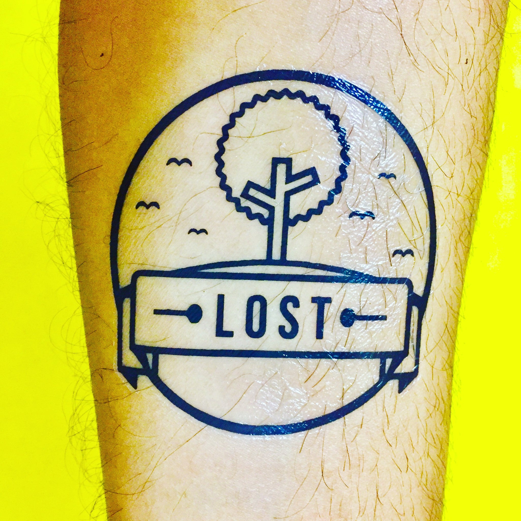 Lost { Temporary Music Tattoo | Set of 5 }