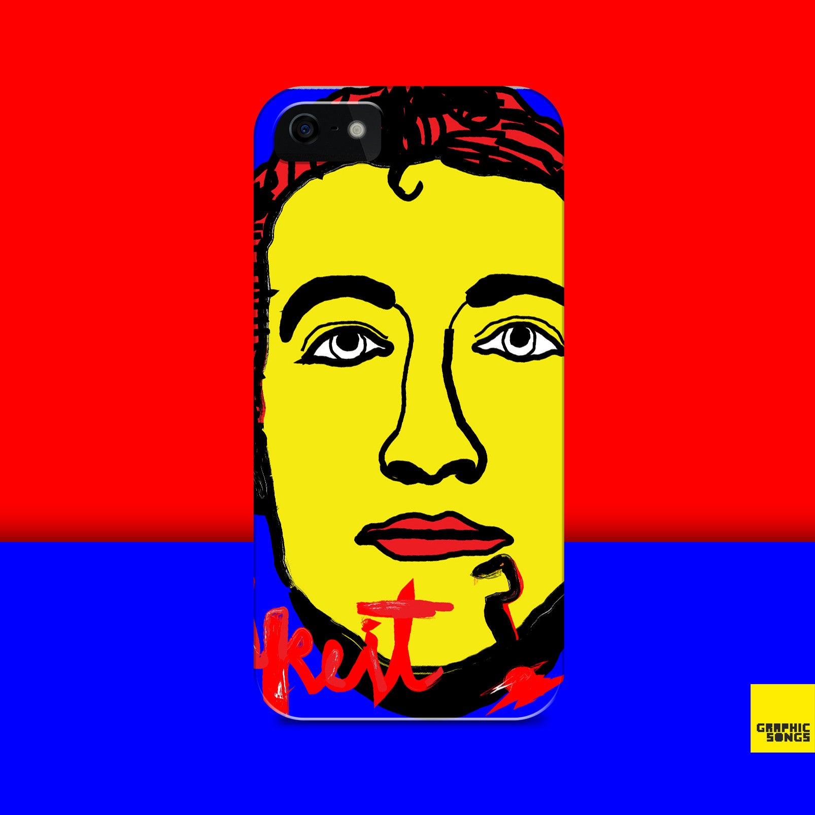 Mark Loves Greenday { Premium Music-Inspired Graphic Print Phone Case }