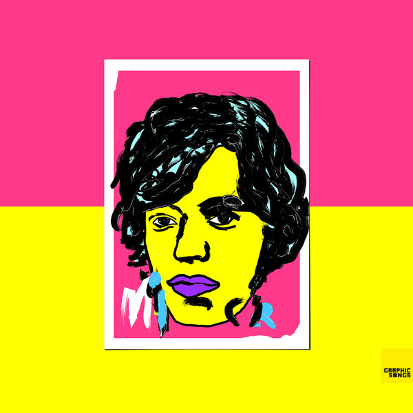 Mick { Premium Music-Inspired Graphic Art Print }