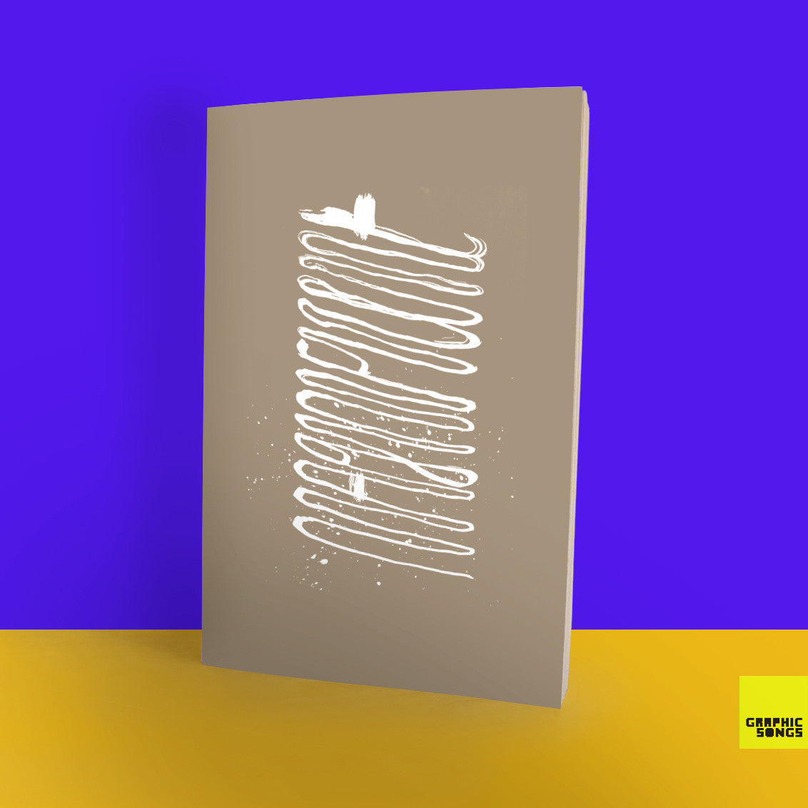 Magnificent { Music-Inspired Graphic Notebook }