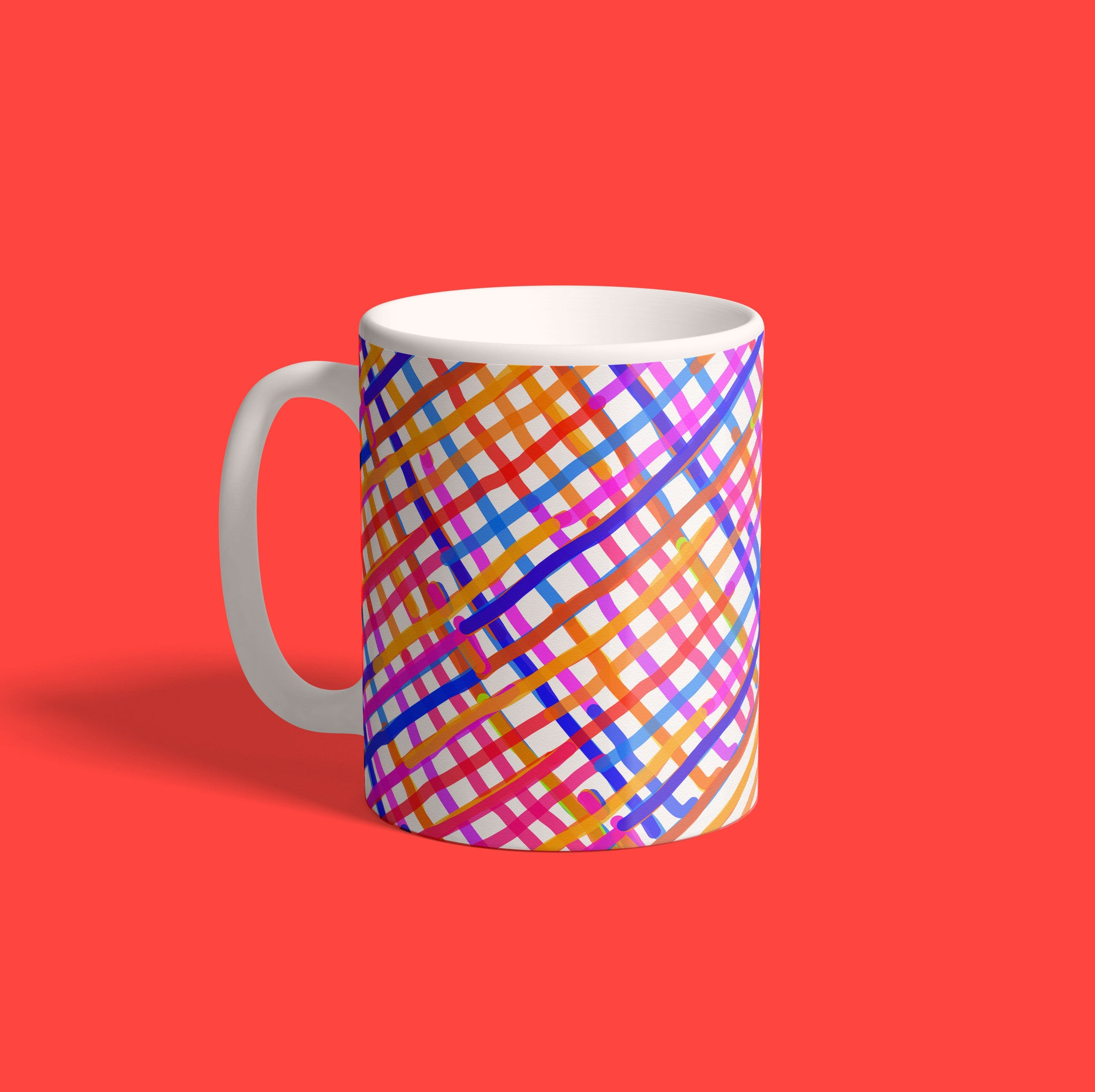 After The Flood All The Colors Came Out { Premium Music-Inspired Graphic Print Mug }