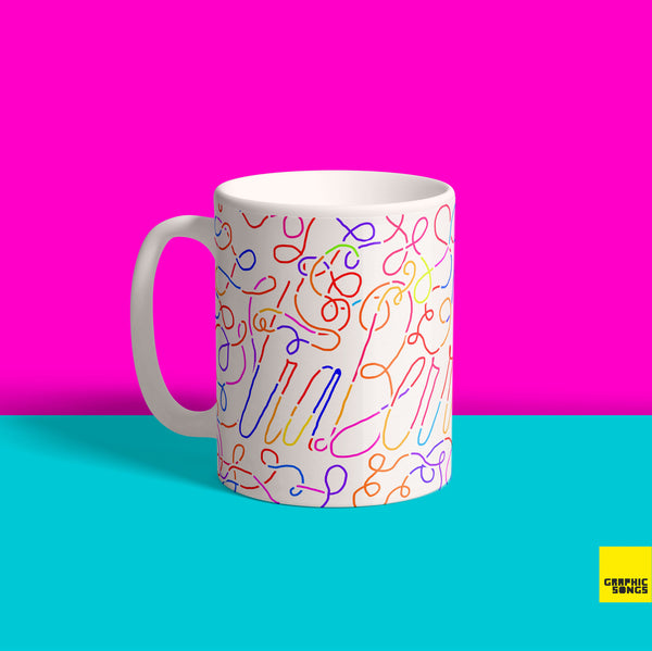 Strawberry { Premium Music-Inspired Graphic Print Mug }