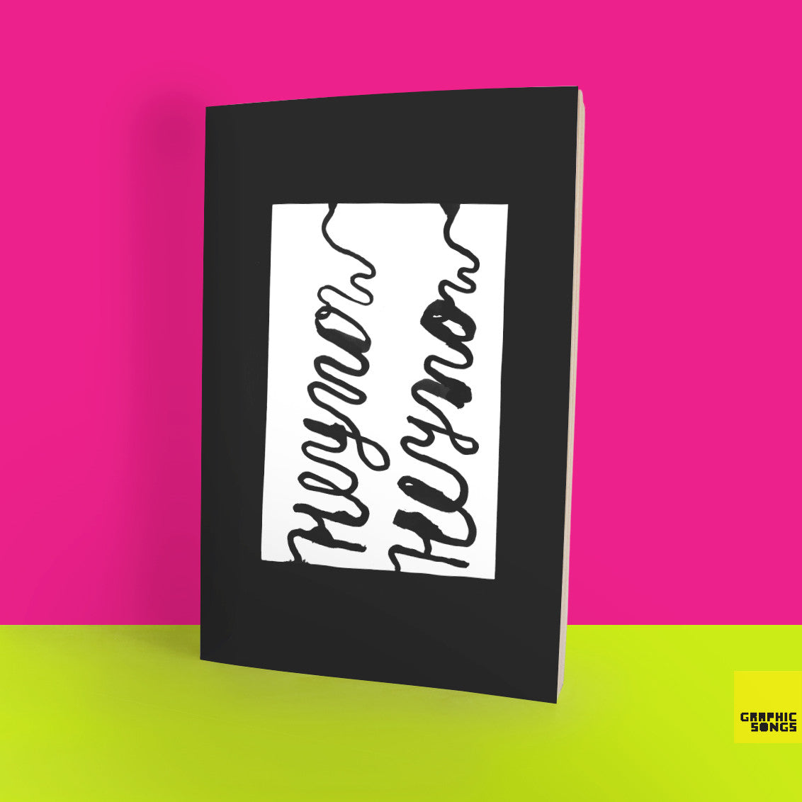 Hey Now { Music-Inspired Graphic Notebook }