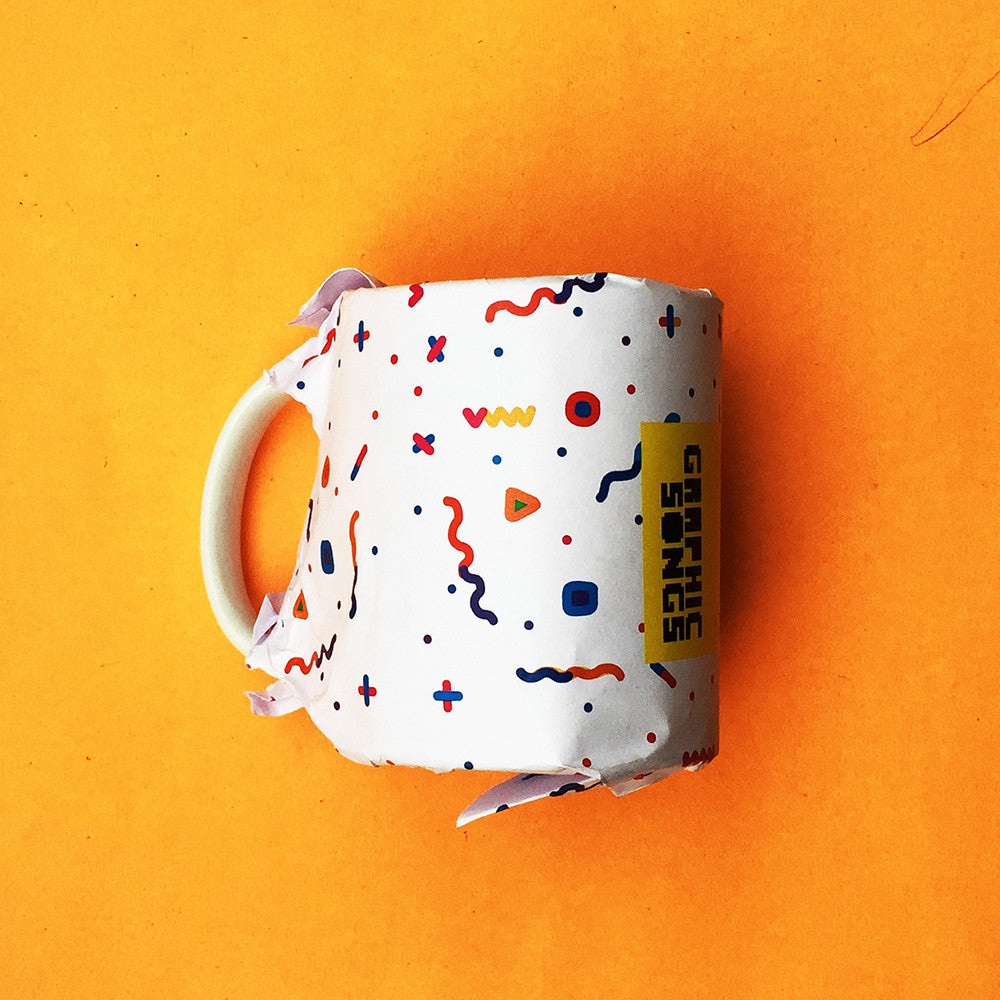 Music Cafe { Premium Music-Inspired Graphic Print Mug }