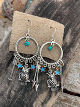 Celestial Owl Splendor Earrings