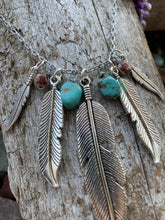 The Free Spirit Feather Gem Necklace
