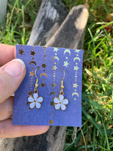 Hippie Flower Earrings