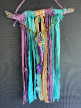 MerGoddess Sari Silk wall Art