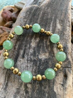 Gemstone stretch bracelet (Aventurine)