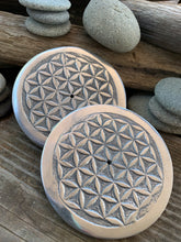 Flower of Life metal incense holder