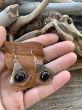 Black Obsidian Boho Earrings