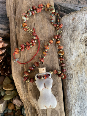 The Divine Fire Goddess Vessel Necklace