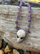 Alien Gemstone Choker Necklace