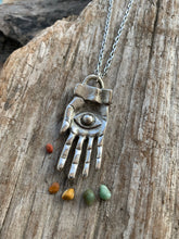 Eye in the Hand Necklace