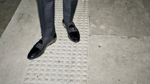 Black Tie Loafers