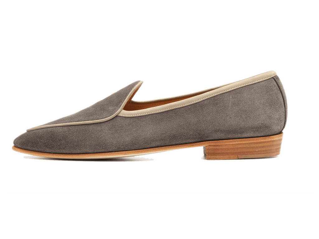 Sagan Classic Vence in Stone Glove Suede (3652424106061)