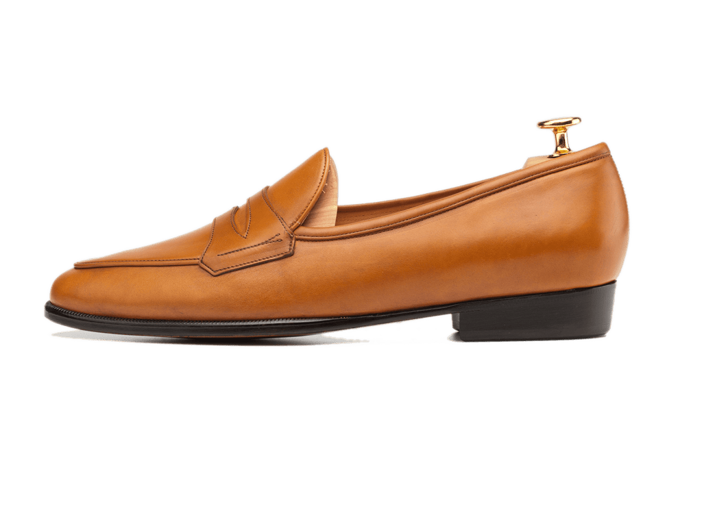 Sagan Grand Penny in Tan Calf (3603726925901)