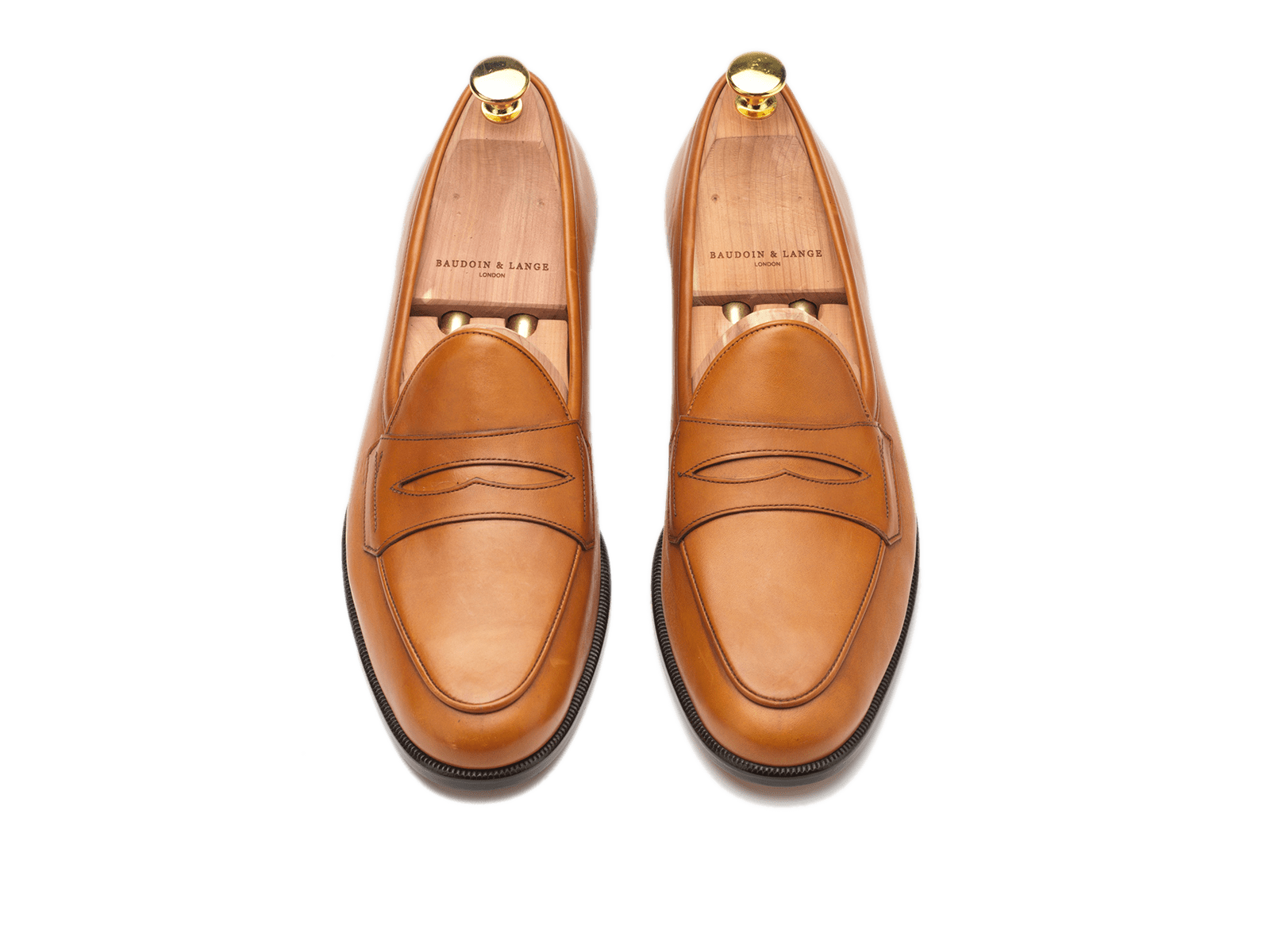 Sagan Grand Penny in Tan Calf