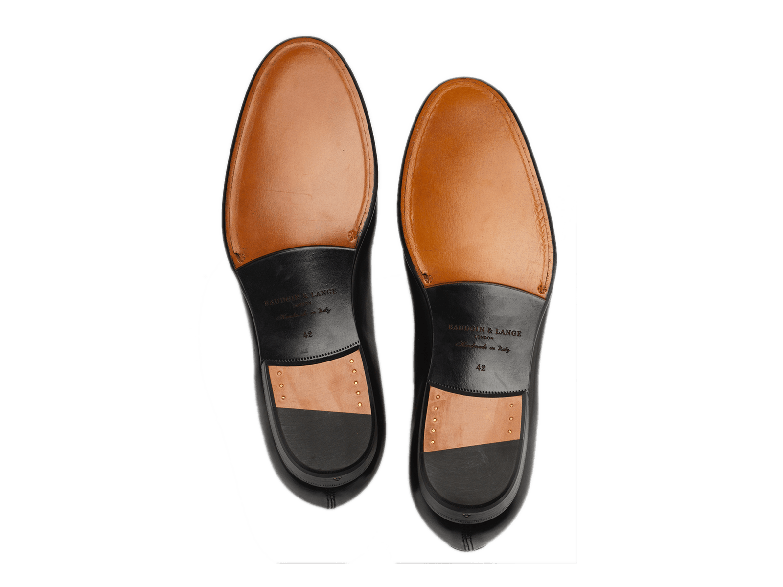 Sagan Grand Penny in Black Calf