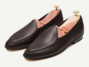 Sagan Classic Plain in Dark Brown Asteria Calf