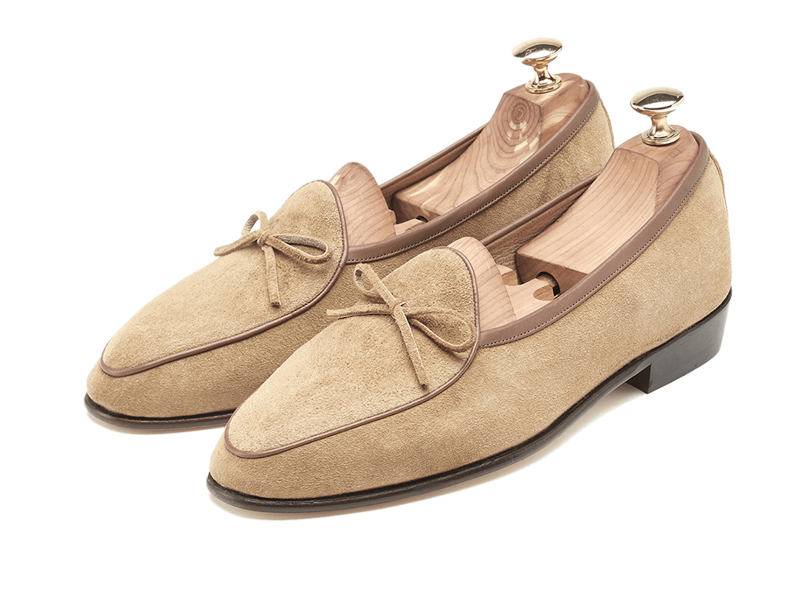 Sagan Classic String in Sand Suede