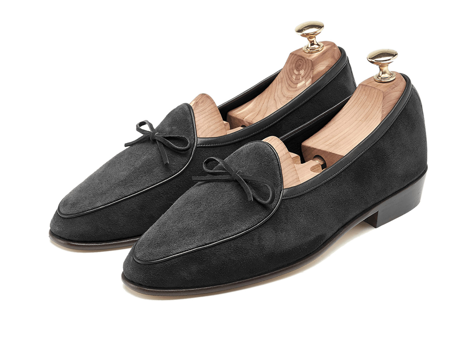 Sagan Classic String in Obsidian Black Suede