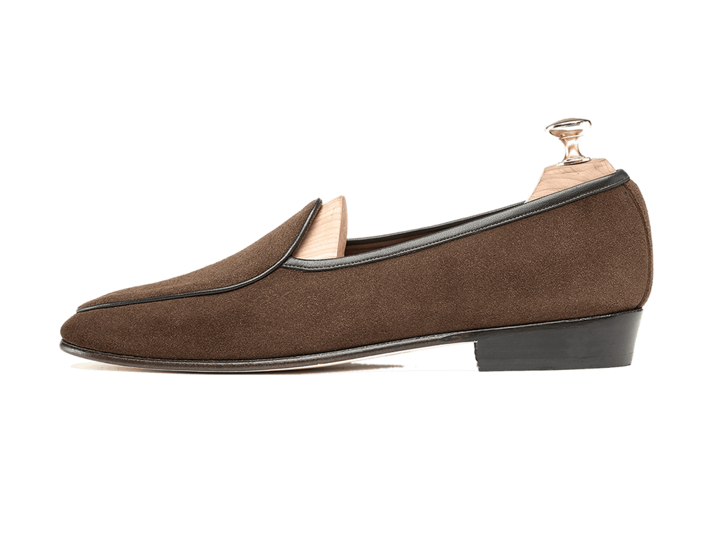Sagan Classic Plain in Oak Brown Suede (3603711656013)